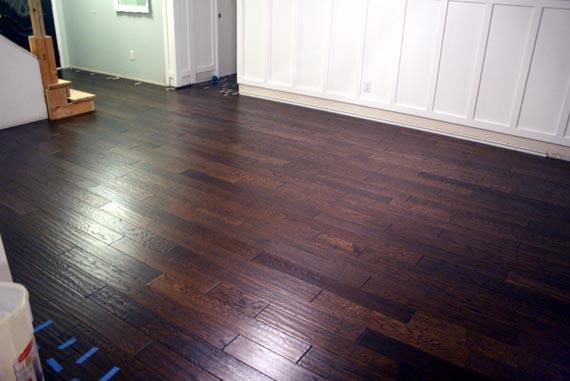 Remodelaholic Installing A Floating Wood Floor Living