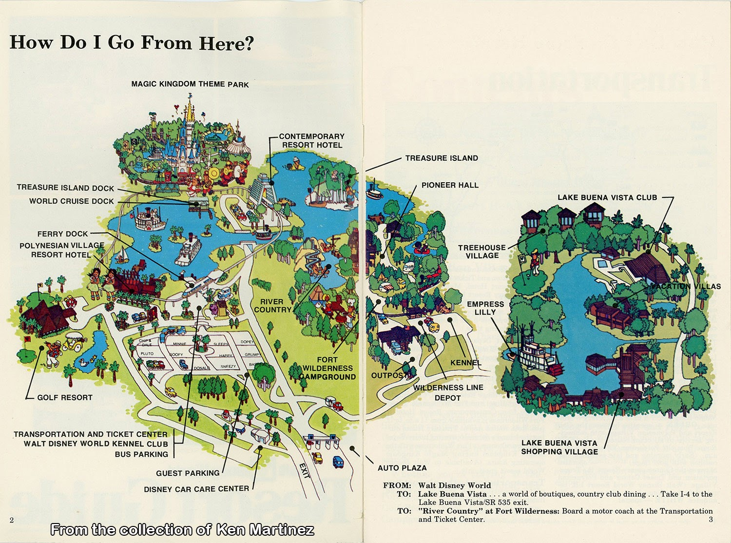GORILLAS DON'T BLOG: Walt Disney World – Resort Guide 1977 (Part on