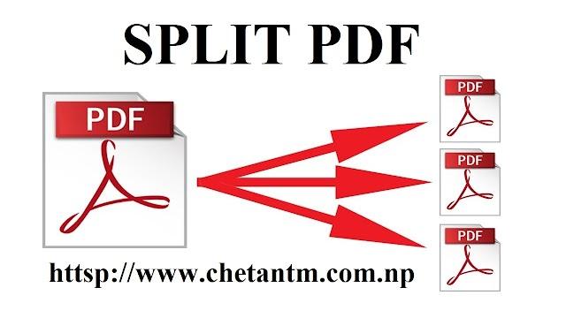 Split PDF Files Converter