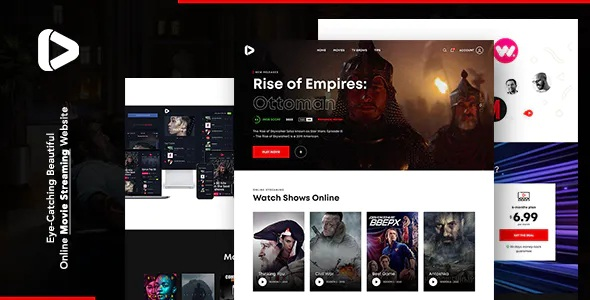Best Online Movie Streaming HTML Template