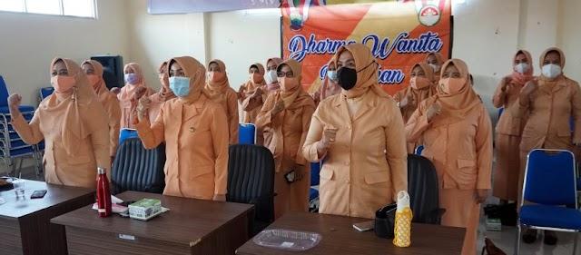 DWP Lampung Selatan Ikuti Seminar Pendidikan Keluarga Secara Virtual