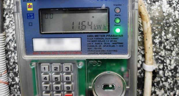 Cara Setting Alarm Di KWH Meter Listrik Pintar Prabayar