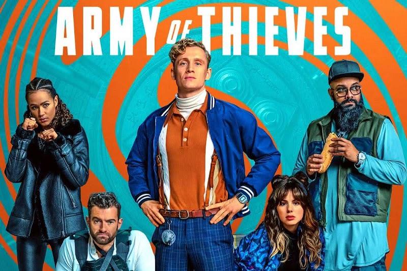 Army of Thieves (2021) - Poster : ザック・スナイダー監督が起ちあげたゾンビ・ユニバース第2弾のスピンオフ映画の前日譚「アーミー・オブ・スィーブズ」が新しいポスターをトリプル・リリース ! !