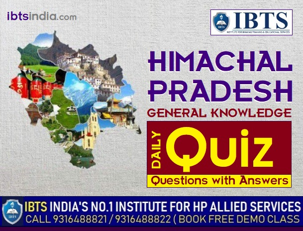 Himachal Pradesh GK 150+ Questions with Answers (Download PDF)