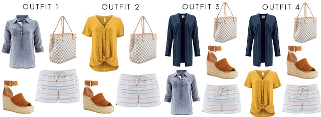 spring capsule wardrobe, aventura spring clothing, aventura spring capsule wardrobe, nomad shorts, mila dress, ayla top, devon popover, westlyn dress, passage cardi