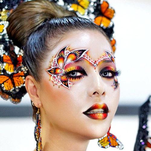 Estilos de maquillaje: fantasía