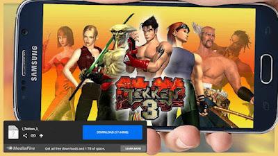 تحميل لعبة تيكن 3 tekken للكمبيوتر وللاندرويد مهكرة برابط مباشر من ميديا فاير