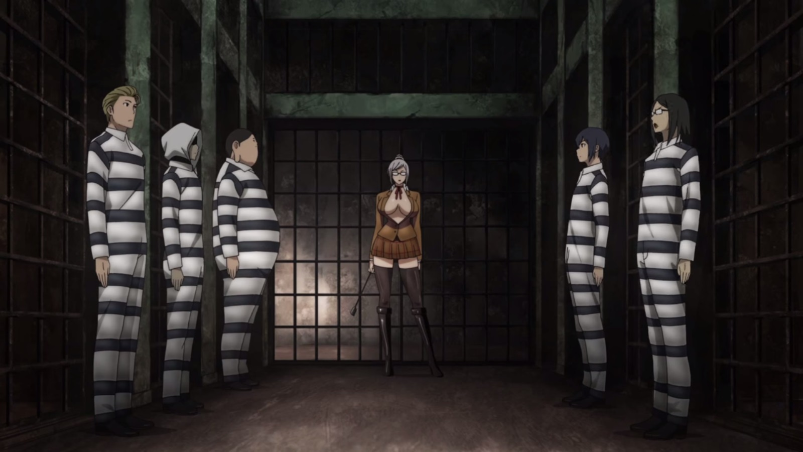 監獄学園第一話