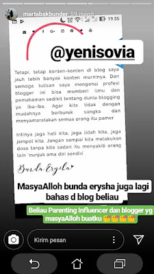 blogger parenting sekaligus influencer