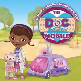 "DISNEY JUNIOR SERIES ""DOC MCSTUFFINS"" INSPIRES  INTERACTIVE HEALTH-FOCUSED ""DOC MOBILE"" TOUR"