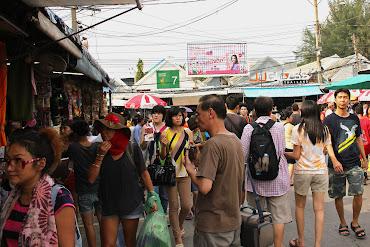Bangkok Chatuchak Markt - Market Chatuchak Weekend