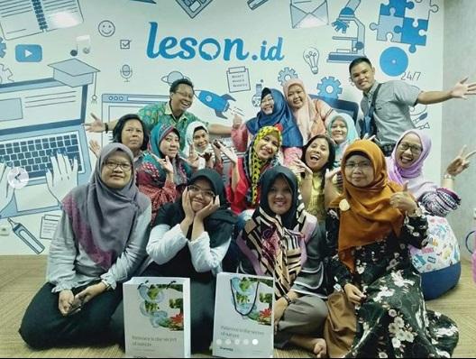 Leson,id ,  aplikasi pendidikan yang dihadirkan untuk memenuhi kebutuhan pelajar dari sekolah dasar hingga pendidikan tinggi, dan CPNS  (dok.blomil)