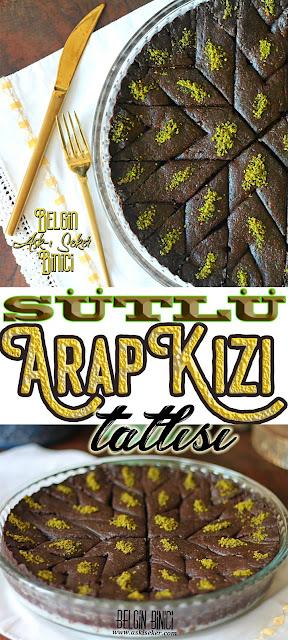 SUTLU ARAP KIZI TATLISI Tarifi şerbetli hafif tatlı kakaolu çikolatalı baklava kalburabastı yapımı nefis kolay sütlü tatlı yemek tarifleri