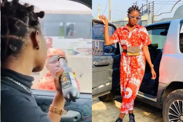 """I No Fit Sleep Nor Eat"" – Influencer Motara Regrets Mocking Child Beggar"