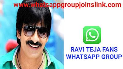 Join 30+ Ravi Teja Fans Whatsapp Group Links 2020