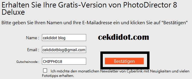 Download Cyberlink PhotoDirector Deluxe 8 License Code Full Version