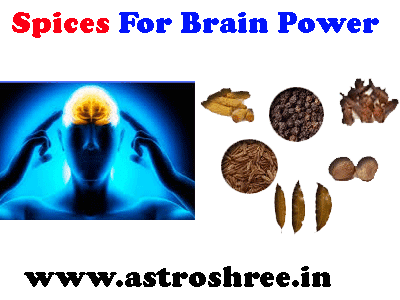 which spices are good for brain power