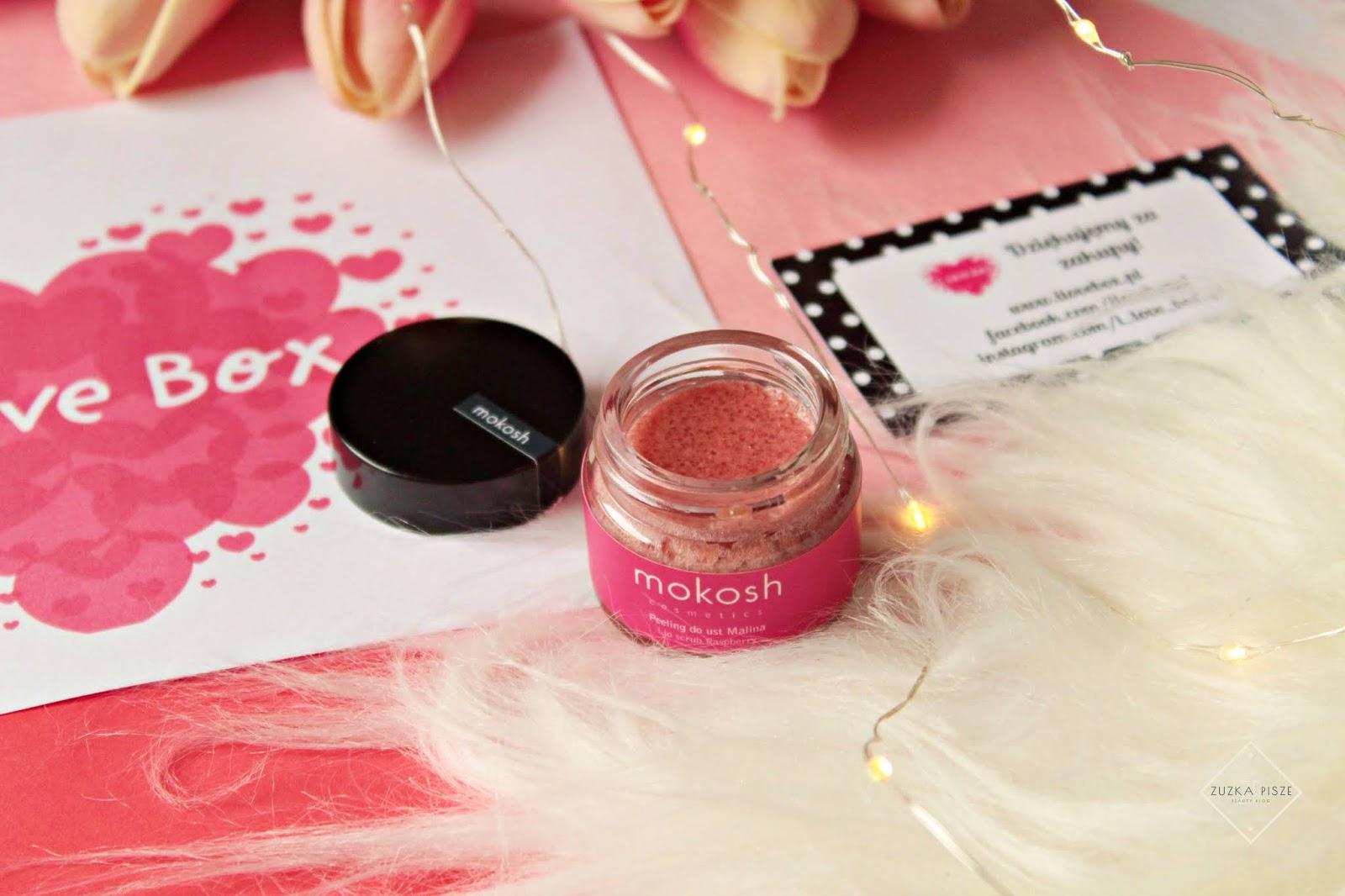 Mokosh - malinowy peeling do ust