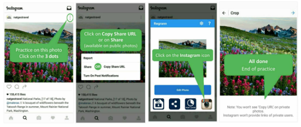 Cara Repost Postingan Instagram Foto  Video dan Captionnya