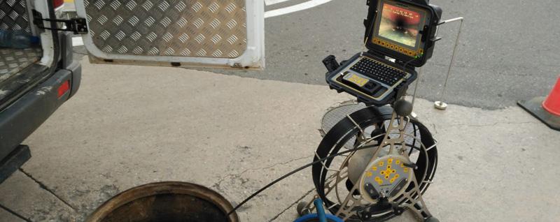 inspección tuberías cámaras Sagunto