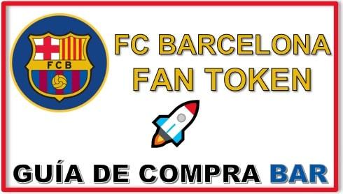Cómo y Dónde Comprar Criptomoneda FC BARCELONA FAN TOKEN (BAR) Tutorial