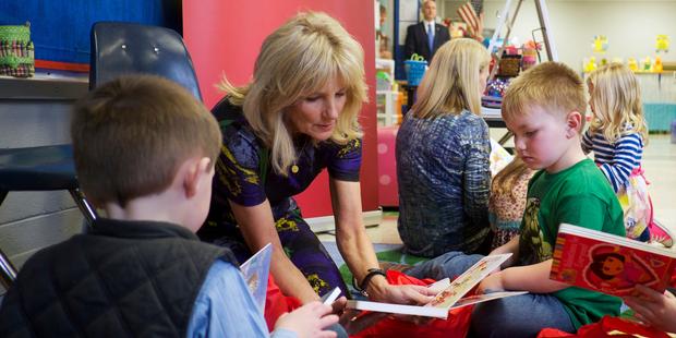 Dr Jill Biden named board chair of Save the Children