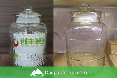 Bình Ngâm Rượu Trung Quốc Giá Rẻ - Quả Nổi - Dai Gia Pho Nui