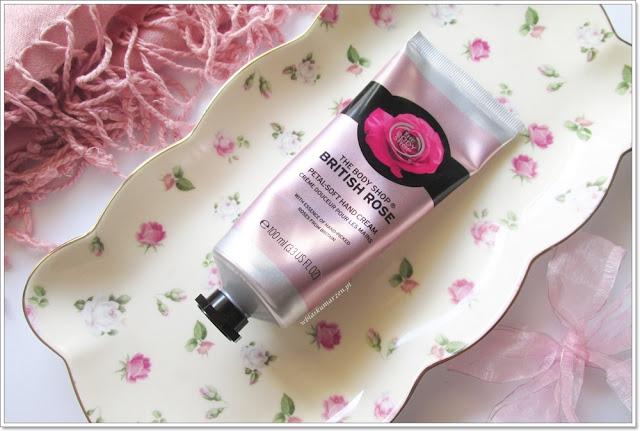 Krem do rąk British Rose The Body Shop