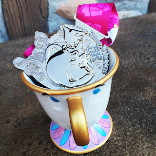 Medaille Princess Half Marathon 2017 5 km