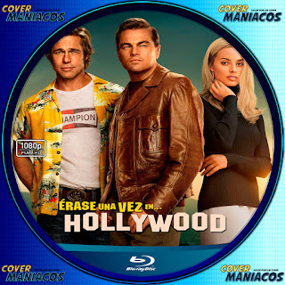 GALLETA ERASE UNA VEZ EN HOLLYWOOD - ONCE UPON A TIME IN HOLLYWOOD - 2019 [COVER BLU-RAY]