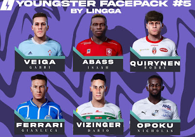 PES 2021 Youngster Facepack 5 by Lingga