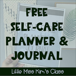 Self-care planner and journal for teachers