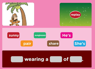 http://www.freddiesville.com/games/clothes-sentence-monkey-game/