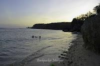 Senja di Pantai Geger Bali