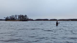 Annandagsfiske efter gädda.