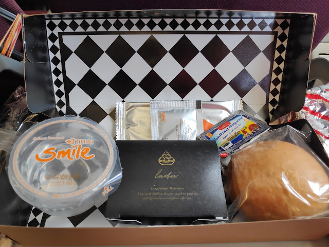 Thai Smile Kolkata to Bangkok Onboard Meal