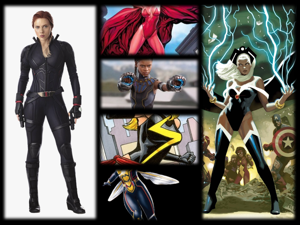 The Top 10 Greatest Marvel Comics Female Superheroes