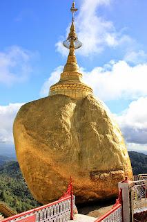 Roca dorada golden rock - Myanmar