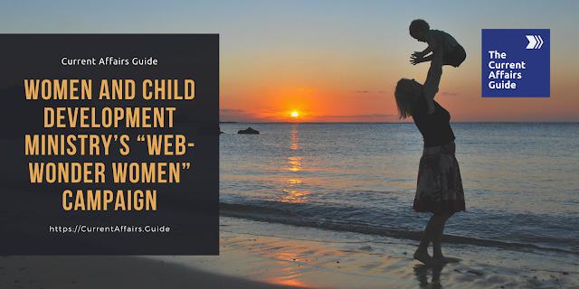 Women and Child Development Ministry Web Wonder Women Campaign