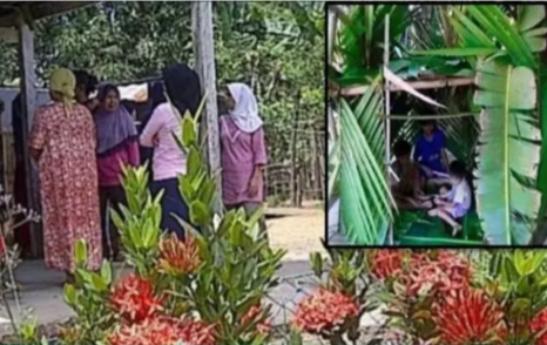 Main Rumah-rumahan di Belakang Sekolah, 14 Anak Berusia 7 Tahun Ini Lakukan Adegan Malam Pertama