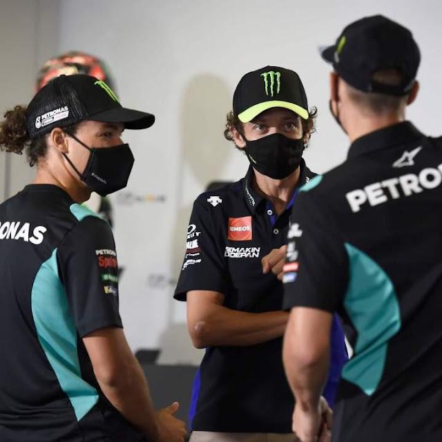 Valentino Rossi Joint Petronas Yamaha SRT 2021