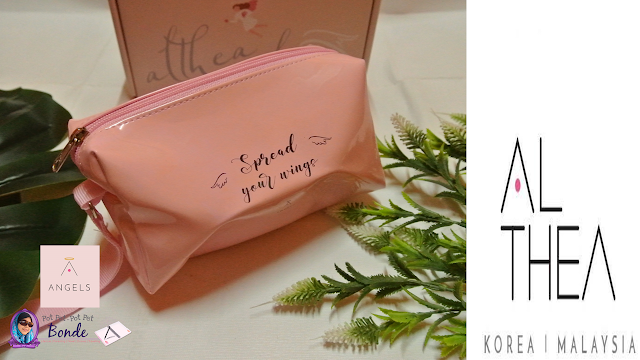 Althea make up pouch,Althea beauty mirror,,Althea limited edition tote bag.New Release Real Fresh Skin Detoxer x Get it Beauty - 10 second wash off mask,Cuties miniature Althea's boxes, K Beauty, Korean Product, Korean, Produk korea,