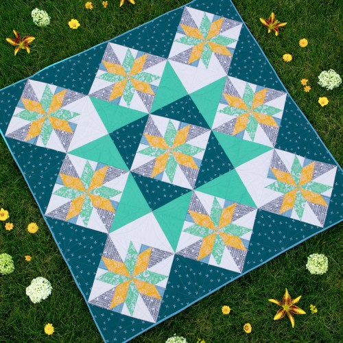 Star Light Quilt - Free Pattern