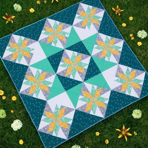 Star Light Quilt - Free Pattern