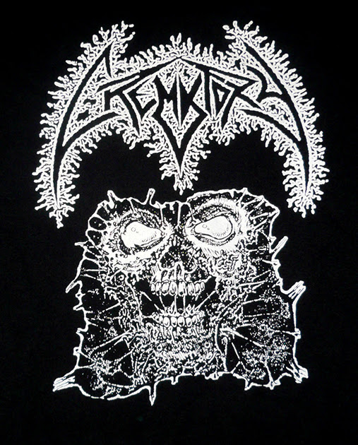 "Crematory ( Sweden ) new T shirt available "" THE EXORDIUM "" demo artwork February 2017 Death Metal tees"