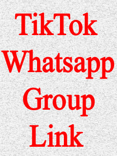 TikTok Whatsapp Group Link