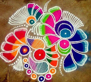 Happy Diwali Rangoli GIF