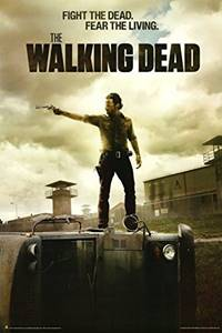 rekomendasi tv series paling bagus The Walking Dead