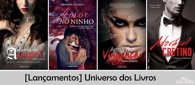 [Lançamentos] Editora Universo dos Livros @univdoslivros
