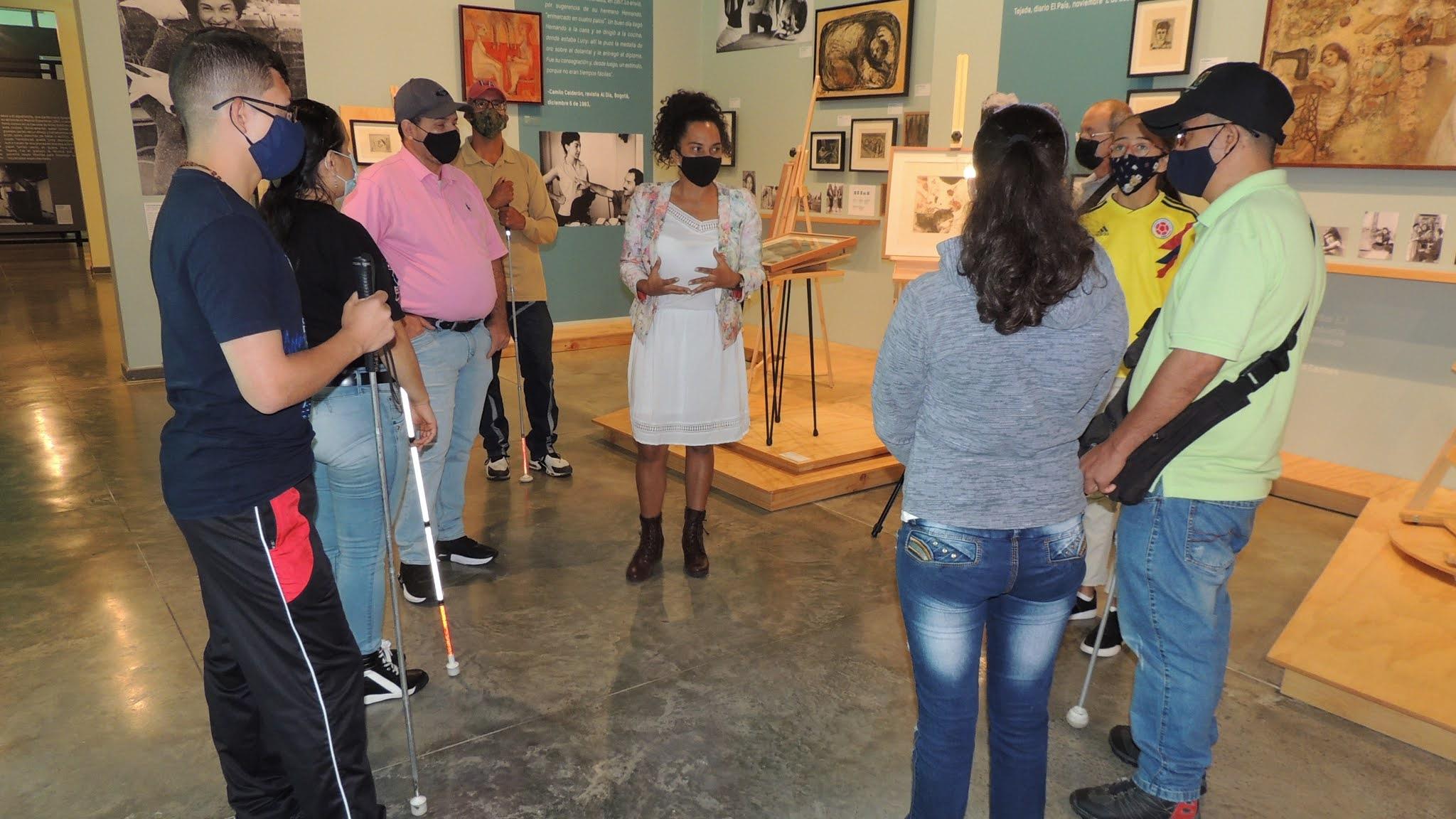 Museo Lucy Tejada cuenta con visitas guiadas para población invidente